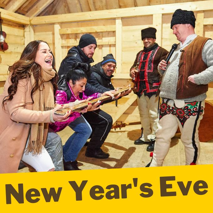 Zakopane sleigh ride in new year's eve